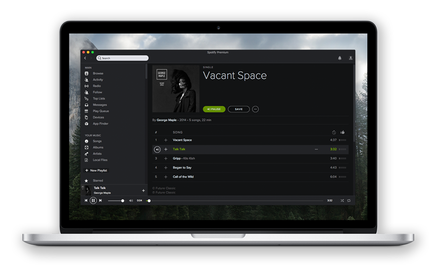 TodayRemote - Control music on your Mac from iOS Notification Center